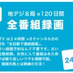 結局「ガラポンTV参号機」は何日分の番組を録画できる?
