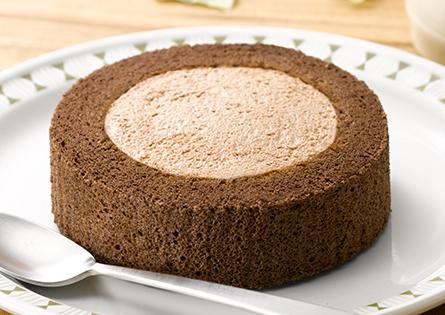 ピュアチョコロールケーキ