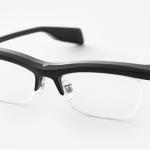 雰囲気を大事にしたウェアラブル眼鏡