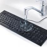 もうポテチを箸で食べなくても大丈夫、丸洗いできるキーボード登場