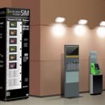 SIMカードの自動販売機は案外高い