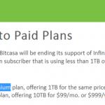 Bitcasaが無制限プラン終了で完全に撤退することに